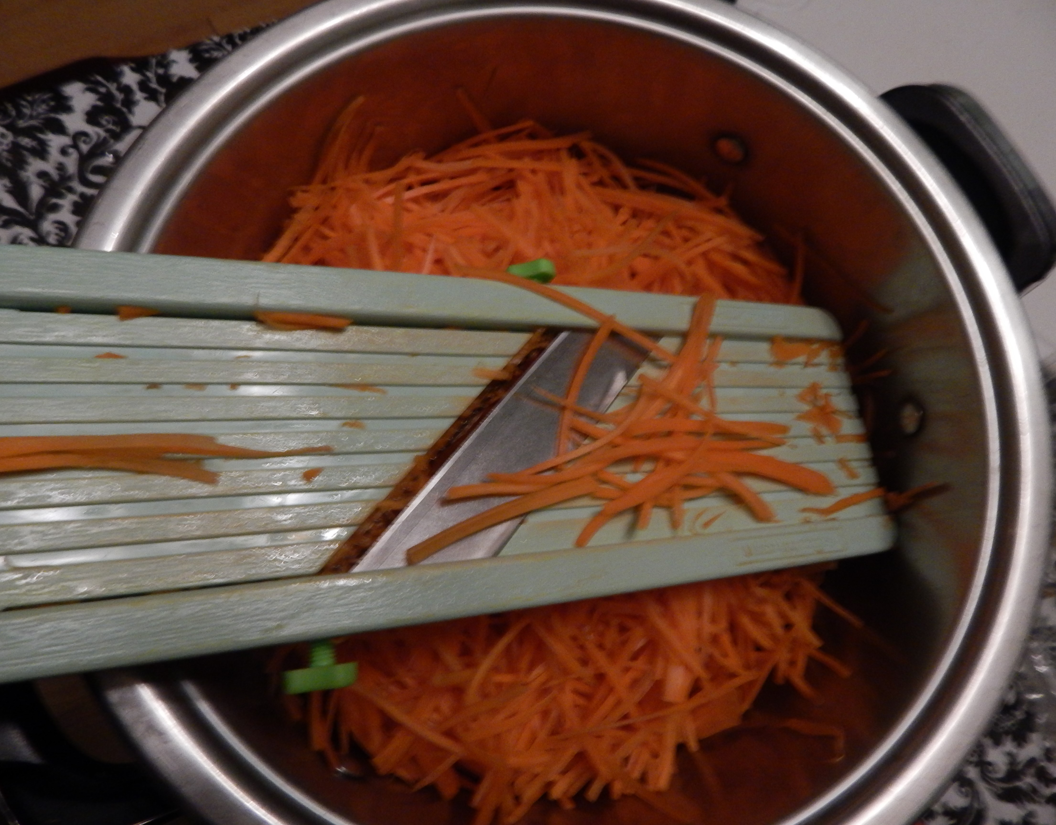 The exact recipe for cooking Korean carrots