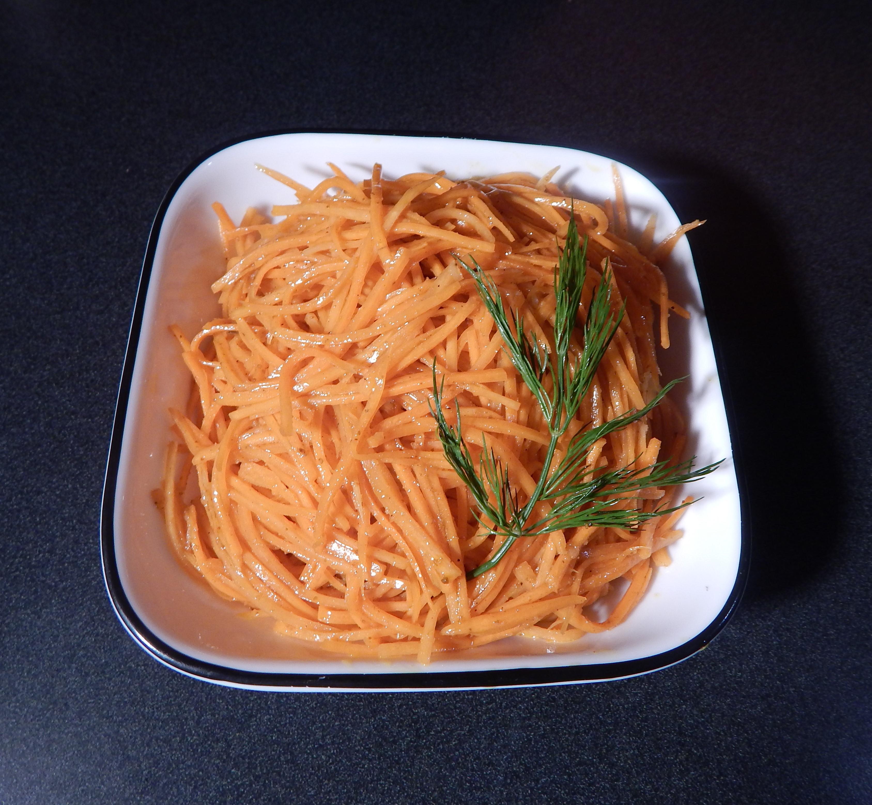 Korean Carrot Salad (Markovcha)Sofies Best Recipes